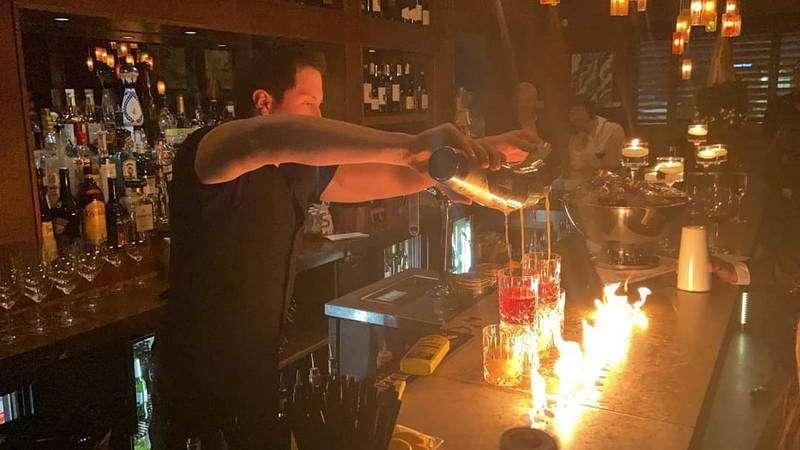 flair bartending service